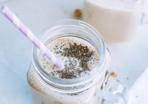 Tiger Lilly nut milk with chia seeds