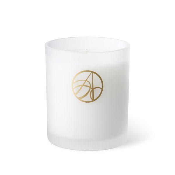 Reethi White Geranium & Sandalwood Scented ARDERE Aromatherapy Organic Natural Wax Candle