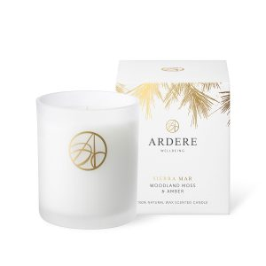Sierra Mar Woodland Moss & Amber Scented ARDERE Aromatherapy Organic Natural Wax Candle