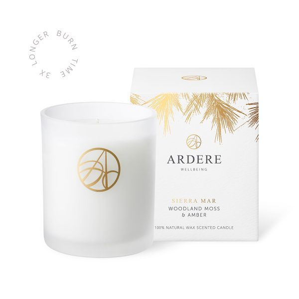Sierra Mar Candle Woodland Moss & Amber