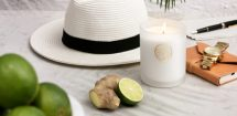 Thai Garden ARDERE Candle Limes & Ginger Holiday