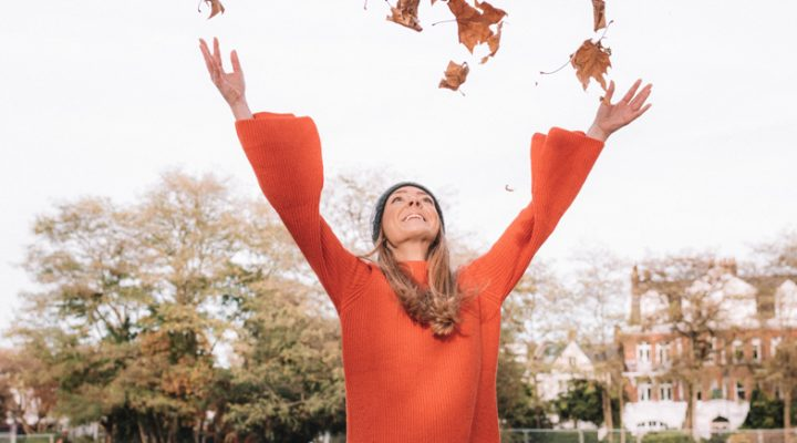 Fall in Love with Fall Autumn Leaves and Hygge