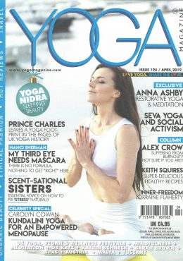 Yoga-Magazine-Cover-April-2019-ARDERE-5 Ways to Beat Stress