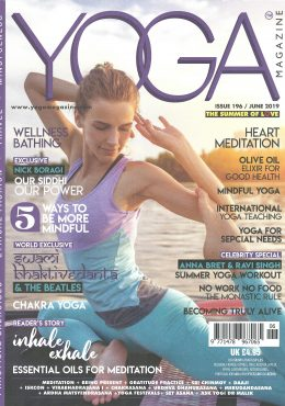 ARDERE X Yoga Magazine June 2019