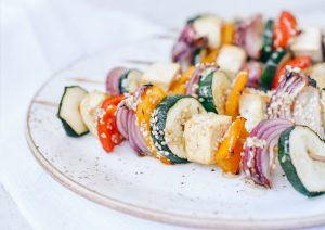 Sesame-Tofu-Vegetable-Skewers