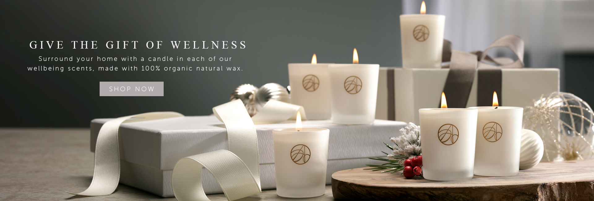 ARDERE's The Self-discovery Candle Collection Gift Set Christmas Banner