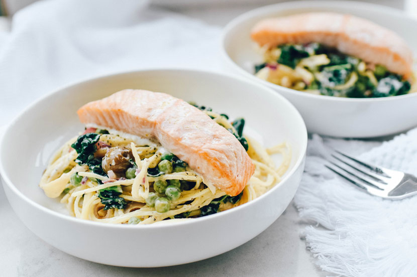 Coconut-Lemon-Salmon-Pasta
