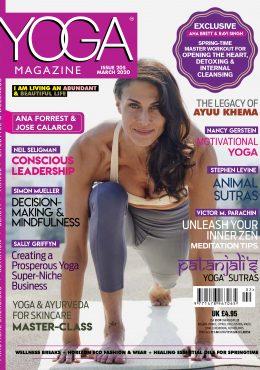 Yoga magazine March ARDERE