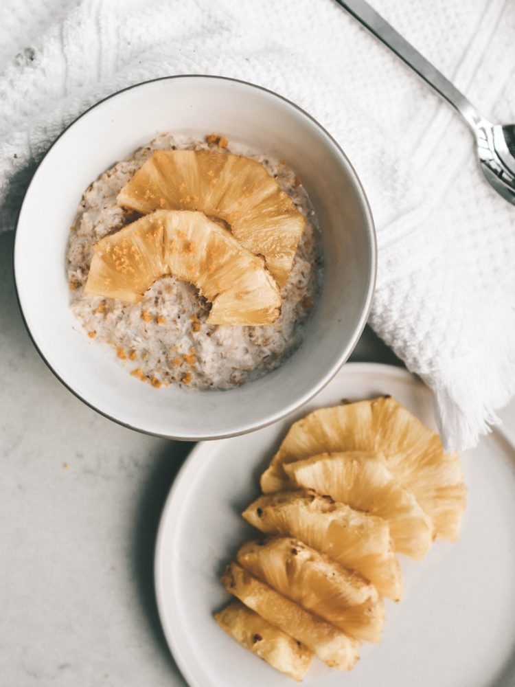 Pineapple Porridge