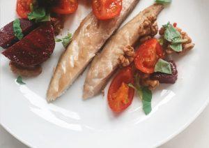 Beetroot-Tomato-Mackerel