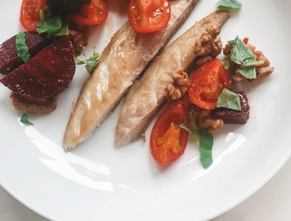 Beetroot-Tomato-Mackerel