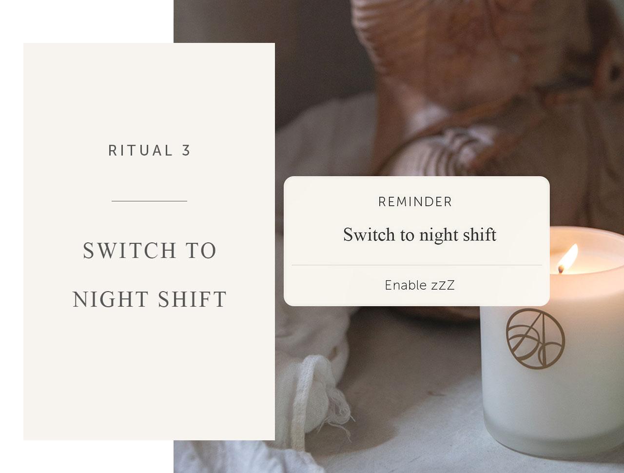 Bedtime ritual 3